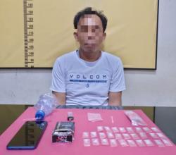 Polisi Amankan Warga Desa Sibuak Beserta 28 Paket Sabu Siap Edar