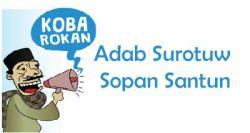 Adab Surotuw Sopan Santun