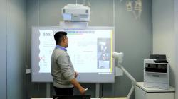 Proyektor Laser Interaktif Ultra-Short Throw Epson EB-1485Fi Cocok untuk PJJ