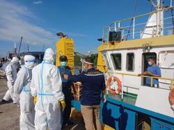 KKP Perintahkan Kapal Asal Malaysia Kibarkan Bendera Kuning
