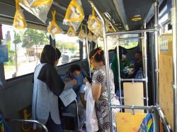 Vaksinasi Keliling Bus TMP, Sudah 1.127 Orang Disuntik Vaksin Covid-19