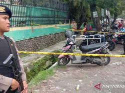 Polisi Amankan Dua Butir Peluru Ditemukan di Motor Pelaku Bom Bunuh Diri