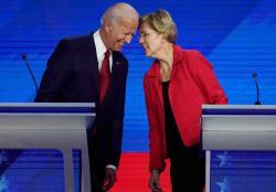 Sandungan Donald Trump, Joe Biden Kuasai Panggung Debat