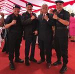 Dubes Rusdi Kirana dan Menteri LHK Jadi Warga Kehormatan Brimob