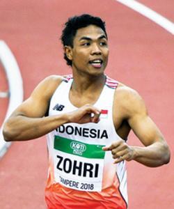 Lalu Muhammad Zohri Lolos ke Olimpiade