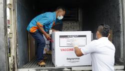 Tahap Dua, 22.840 Dosis Vaksin Lagi Masuk Riau