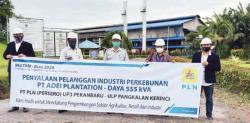 PLN UP3 Pekanbaru Berikan Solusi di Sektor Pertanian dan Pelaku Usaha