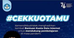 Bantuan Kuota Data Internet Mulai Disalurkan