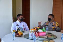 Kapolda Riau Sosialisasi UU Ciptaker