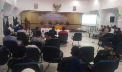 Pleno KPU Bengkalis Baru Selesaikan Perhitungan Suara Enam PPK