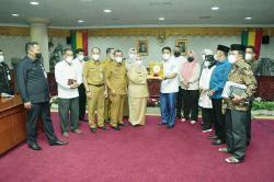 Pemkab Bengkalis Datangi DPRD Riau