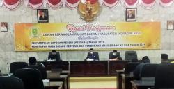 Ketua Fraksi Golkar DPRD Inhu Diberhentikan