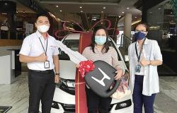 Pengunjung Setia CS Mall Bawa Pulang 1 Unit Mobil