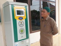 ATM Beras Bantu Warga Tualang Kurang Mampu