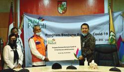 PLN UIP3BS Serahkan Bantuan Pangan Rp800 Juta