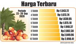 TBS Kelapa Sawit Masih Bertahan di Level Rp2.000 per Kg