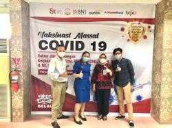 BNI Dukung Vaksinasi Massal Covid-19 Sektor Jasa Keuangan