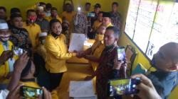 Repol dan Catur Sugeng Resmi Daftar Calon Ketua DPD II Golkar Kampar