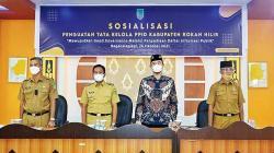 Diskominfotiks Gelar Sosialisasi Penguatan Tata Kelola PPID