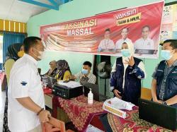 Ajak Warga Ikut Vaksinasi untuk Tingkatkan Imun
