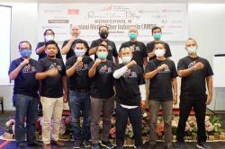 Ahmad S Udi Kembali Pimpin AMSI Riau, Ini Pesan Gubri dan W Manggut