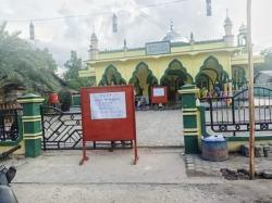 Masjid At Taqwim Tj Samak Jadi Sarana Isolasi Pasien Covid-19.