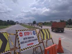 Jembatan Siak II Ditutup Sementara