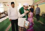 Habib Salim Segaf Beri Tausiah di Masjid Islamic Center