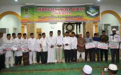 Pemkab Peringati Nuzulul Quran di Masjid Al Ikhlas