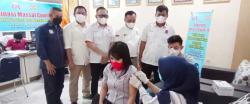 DPD REI Bersama OJK Riau Gelar Vaksinasi Massal