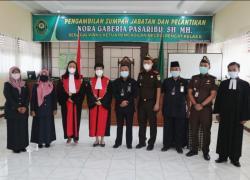 Nora Gaberia Pasaribu Jabat Wakil Ketua PN Rengat