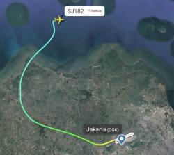 Sriwijaya Air Tujuan Pontianak Mulai Hilang Kontak di Kepulauan Seribu