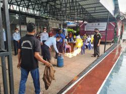 Lapas Bagansiapiapi Edukasi Langkah Pencegahan Kebakaran