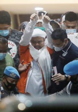 Dikabarkan Kondisi Kesehatan Habib Rizieq Memburuk, Ini Kata Polisi