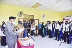 Wabup Lantik Anggota BPD Se-Kecamatan Sungai Batang
