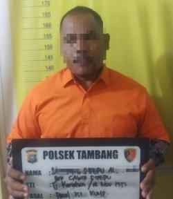 Aniaya Anggota Polisi, Warga Jalan UKA Ditangkap