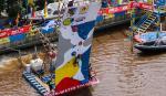 Pertama di Indonesia Kejuaraan Panjat Tebing di Pinggir Sungai Siak