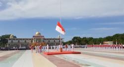 Bupati Rohil H Suyatno Pimpin HUT Ke-74  Republik Indonesia