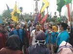 Mahasiswa Dumai Kembali Demo Terkait Asap