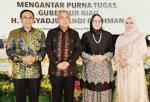 Bupati Hadiri Purnatugas Gubernur Riau