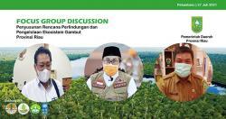 Provinsi Riau Melakukan Penyusunan Rencana Perlindungan dan Pengelolaan Ekosistem Gambut