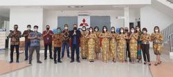 mitsubishi fuso authorized dealer diresmikan di pekanbaru