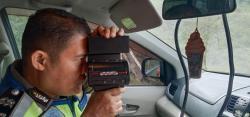 Tekan Angka Kecelakaan di Tol Permai, Polisi Rutinkan Pengawasan dengan Speed Gun