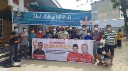 Anggota DPR Effendi Sianipar Berkurban 3 Ekor Sapi di Tiga Masjid Ini