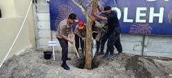 Kalemdiklat Polri Tanam Seribu Pohon di SPN Polda Riau