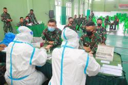 Personel Kodim 0313/KPR Rapid Test Massal