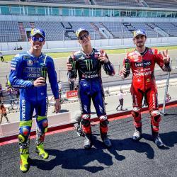 Quartararo Juara, Marquez Selesaikan Lomba dengan Emosional
