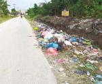 Pangkalan Kerinci Jadi Kota Bertabur Sampah