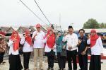 Zulaikhah Lantik Pengurus PMI 3 Kecamatan