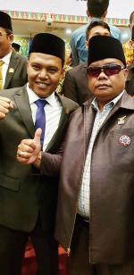 Togu L Gaol Hadiri Pelantikan Anggota DPRD Riau